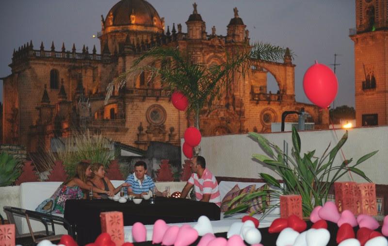 Fiesta en Terraza baños arabes jerez hammam andalusi